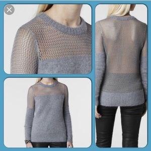 All saints angora sweater